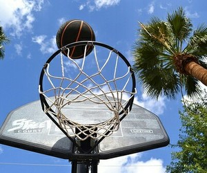 Basketball, photography, and summer image