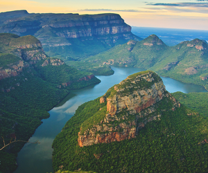 south africa, canyon, and landscape image