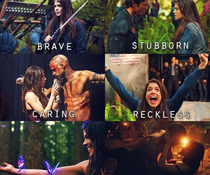the 100, bellamy, and brave image