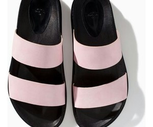 sandals, soft pink, and Zara image