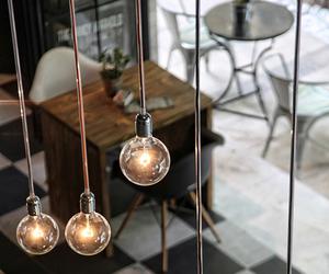 light, design, and interior image