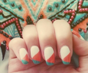art, color, and nails image