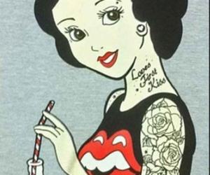 disney, snow white, and tattoo image