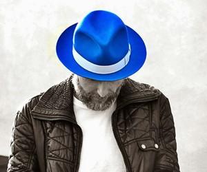 blu, cappello, and Jovanotti image