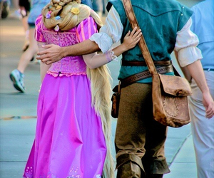 couple, rapunzel, and tangled image