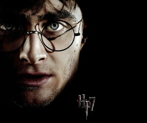 daniel radcliffe, glass, and harry potter image