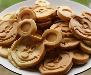 disney, pancakes, and food image