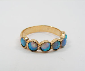 etsy.com, jewelry, and opal image