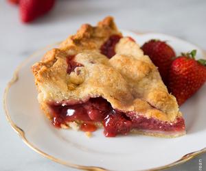 cherry pie, dessert, and pie image