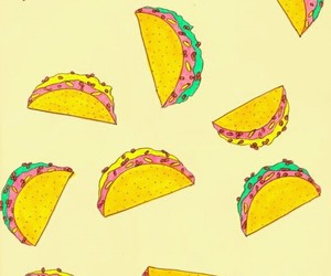 tacos, background, and food image