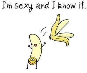 banana, sexy, and funny image