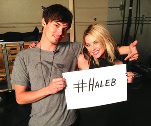 haleb, pll, and pretty little liars image
