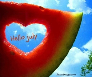 july, watermelon, and summer image