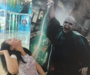 creative, harry potter, and voldemort image