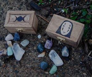 grunge, stone, and box image