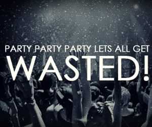 drink, party, and wasted image