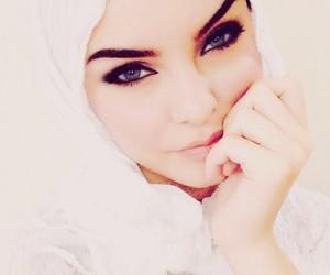 beautiful, hijab, and women image