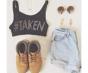 fashion, outfit, and taken image