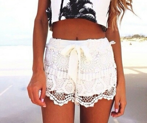 fashion, summer, and white image