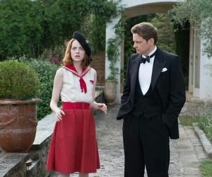 beautiful, emma stone, and the help image