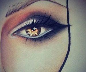 bronze, summer, and eye image