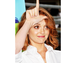 glee, gleek, and jayma mays image