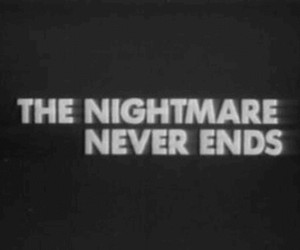 nightmare, end, and never image