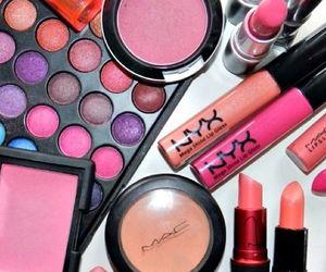 lips, makeup, and NYX image