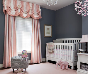baby, nursery, and room image