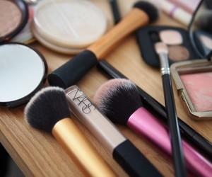 makeup, Brushes, and nars image