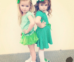 kids, child, and green image
