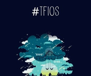 tfios, the fault in our stars, and okay? image