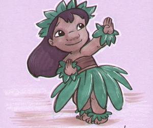 dance, Honolulu, and disney image