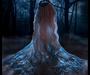 blue, bride, and corpse bride image