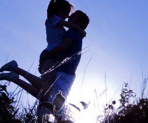 couple, in love, and sun image