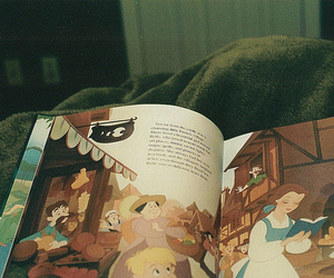 book, disney, and photography image