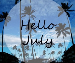 summer and hello july image
