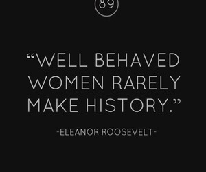 quotes, woman, and history image