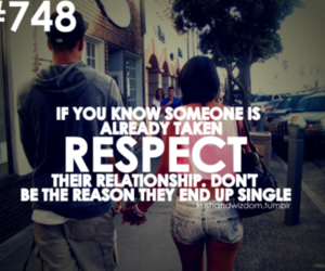 Relationship, respect, and quote image