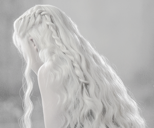 game of thrones, hair, and emilia clarke image