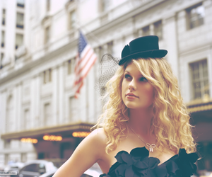 Taylor Swift, black, and hat image