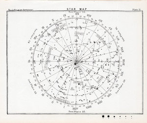 stars, map, and star map image
