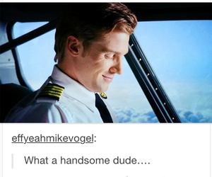 handsome, pan am, and pilot image