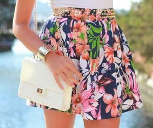 fashion, skirt, and summer image
