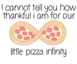 pizza and infinity image