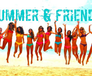 summer time, beach tumblr, and friends tumblr image