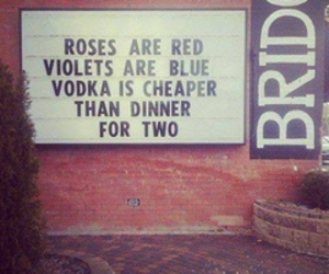vodka, quotes, and love image