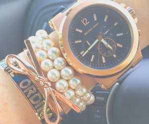 fashion, summer, and watch image