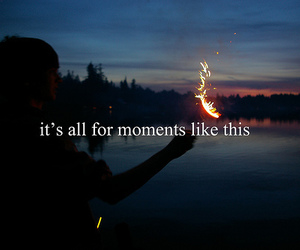 moment, quote, and text image