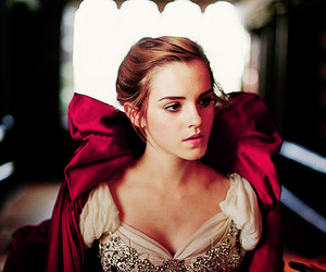 beautiful, girl, and beauty and the beast image